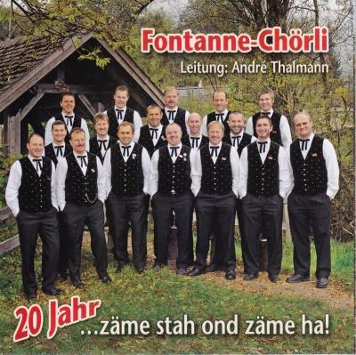 Fontanne-Chörli | 20 Jahr zäme stah ond zäme ha!